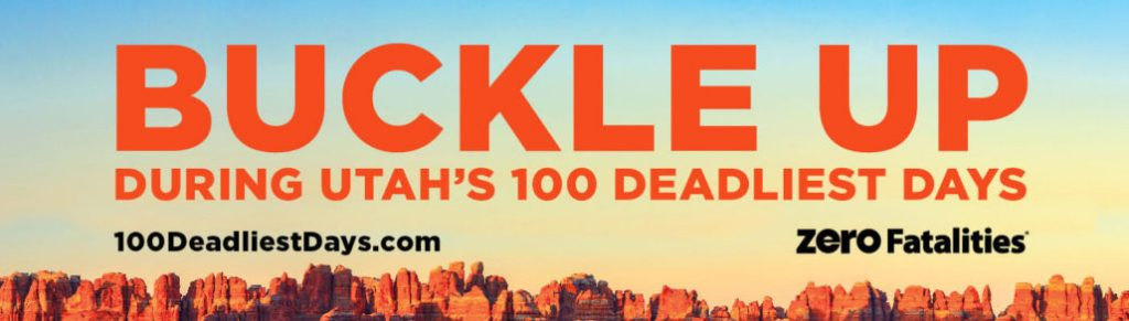 Buckle up during Utah's 100 deadliest days