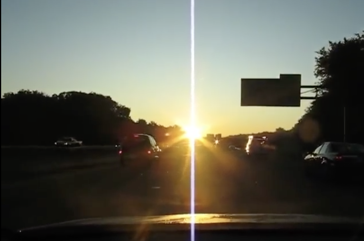 Sun glare through your windshield can almost completely obscure your view of what is in front of and around you.