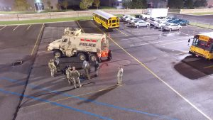 Members of the SERT team prepare for an operation.