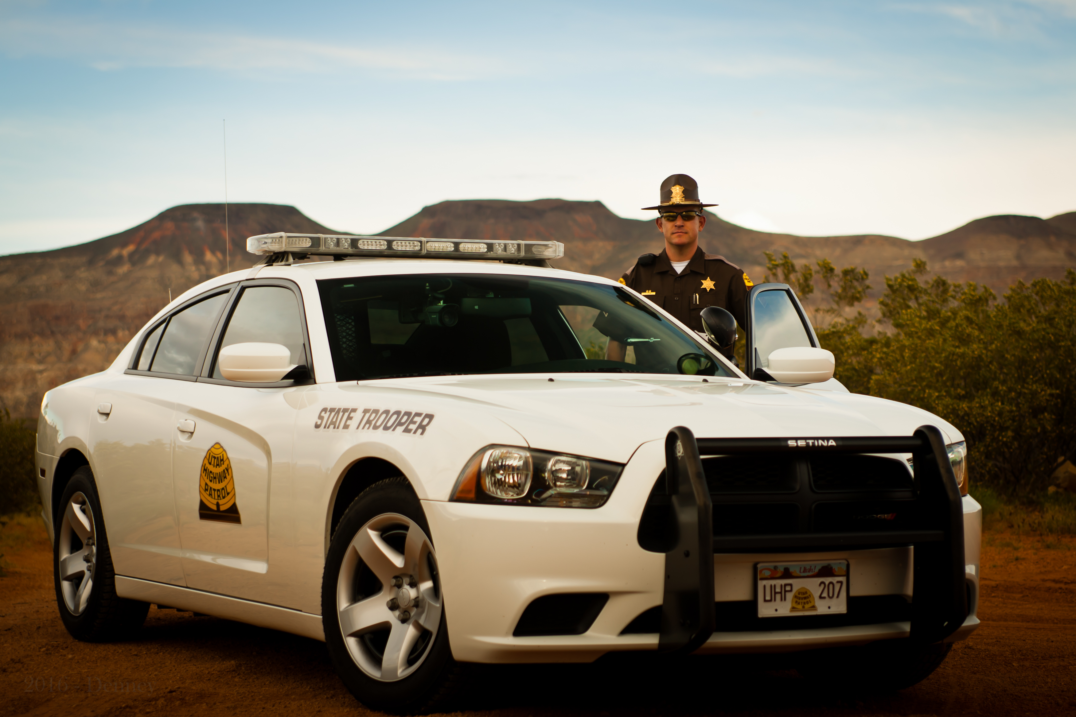 UHP troopers provide professional police services throughout the state.
