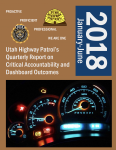Screen cap of front of transparency report