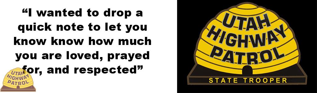 Image shows the UHP Beehive animated and the text reads I wanted to drop a quick note to let you know know how much you are loved, prayed for, and respected.